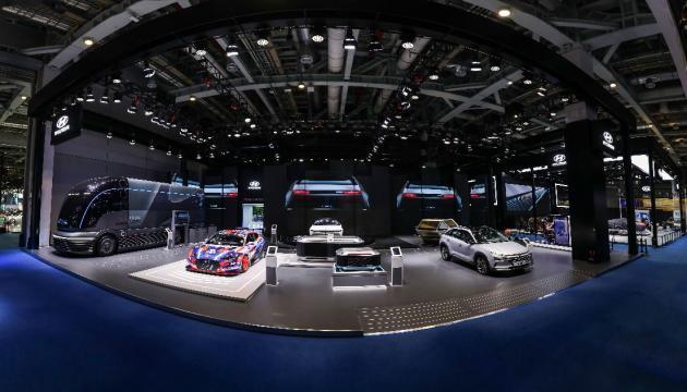 现代氢燃料电池车惊艳亮相第二届进博会 带来绿色出行解决方案