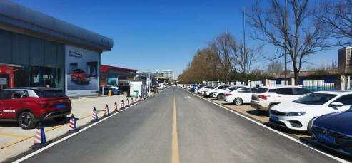 服务升级,焕新出发 ——河南省汽贸中心升级改造建设中