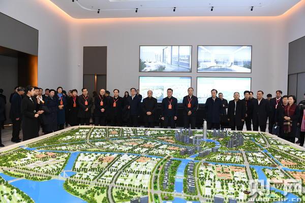 河南省人大常委会副主任王保存带领驻豫全国人大代表视察组视察郑州国家中心城市建设